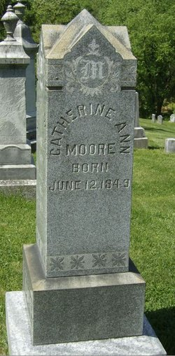 Catherine Ann Kate <i>McKinney</i> Moore