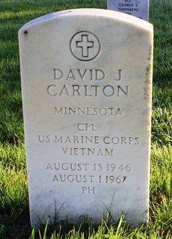 Corp David James Carlton