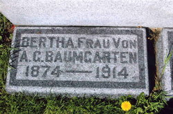 Bertha <i>Huebing</i> Baumgarten