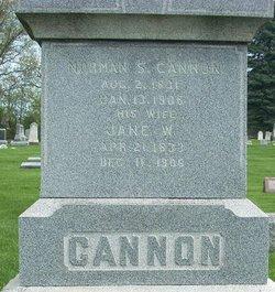 Jane Wealthy <i>Warner</i> Cannon