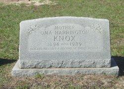 Oma Harrington Knox