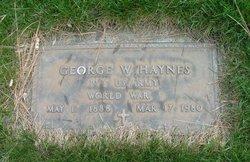 George W Haynes