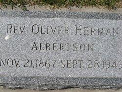 Rev Oliver Herman Albertson