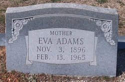Eva Stacy <i>Padier</i> Adams
