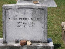 Annie <i>Petree</i> Moore