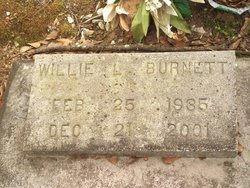 Willie L Burnett