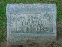 Mary <i>Chalmers</i> Russell