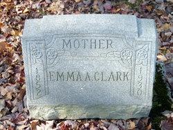 Emma A <i>Rowland</i> Clark