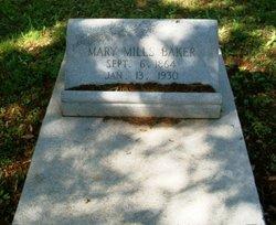 Mary <i>Mills</i> Baker