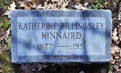 Katherine <i>Billingsley</i> Kinnaird