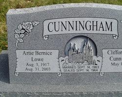 Artie Bernice <i>Lowe</i> Cunningham