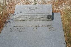 Minnie <i>Letcher</i> Gandy