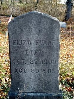 Eliza <i>Allen</i> Evans