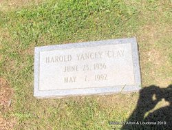 Harold <i>Yancey</i> Clay