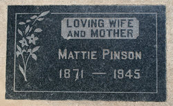 Mattie E. <i>Gattis</i> Pinson