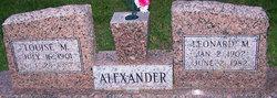 Leonard Marion Alexander