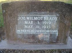 Joe Wilmot Brady