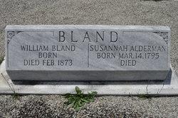 Susannah <i>Alderman</i> Bland