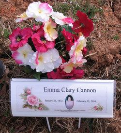 Emma <i>Clary</i> Cannon