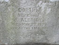Dorothea Albright