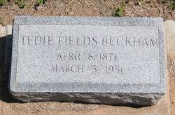 Tedie <i>Fields</i> Beckham