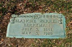 Blanche <i>Warren</i> Berryman