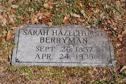 Sarah <i>Hazlehurst</i> Berryman