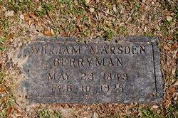 William Marsden Berryman