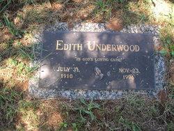 Edith Underwood