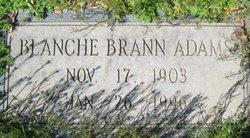 Blanche Evelyn <i>Brann</i> Adams