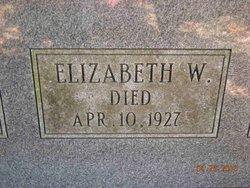 Elizabeth <i>Willcox</i> Wallis