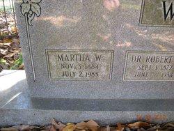 Martha <i>Wills</i> Wallis