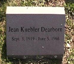 Jean <i>Kuebler</i> Dearborn