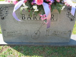 Haven Lloyd Barker