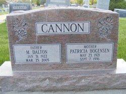 Adrienne Patricia Patty <i>Hogensen</i> Cannon