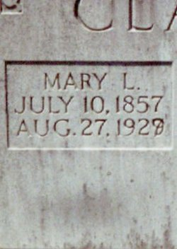 Mary E [Polly <i>Lakin</i> Clark