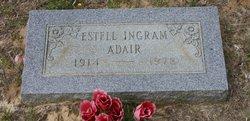 Ester <i>Ingram</i> Adair