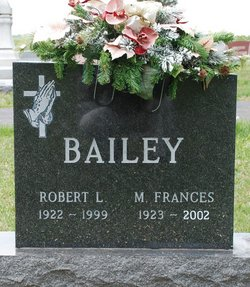 Mary Frances <i>Shaffer</i> Bailey