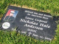 Corp Nicholas Hale Anderson