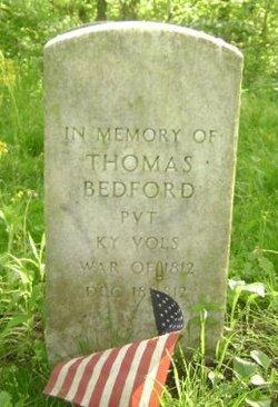 Pvt Thomas Bedford