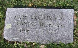 Mary McCormack <i>Jenness</i> Dickens