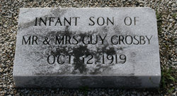 Infant son Crosby