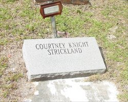 Mary Courtney <i>Knight</i> Strickland
