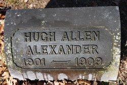 Hugh Allen Alexander