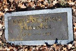 Mary Jane <i>Shores</i> Alexander