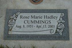 Rose Marie <i>Hadley</i> Cummings