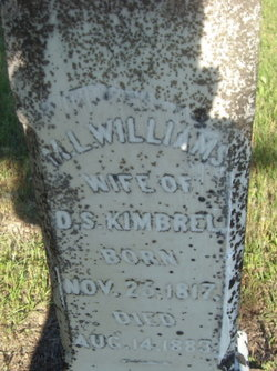 Mary L. Polly <i>Williams</i> Kimbrel
