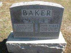 Annie Catherine <i>Ellis</i> Baker