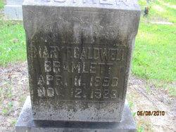 Mary F <i>Caldwell</i> Bramlett