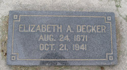 Elizabeth Ann <i>Dunn</i> Decker